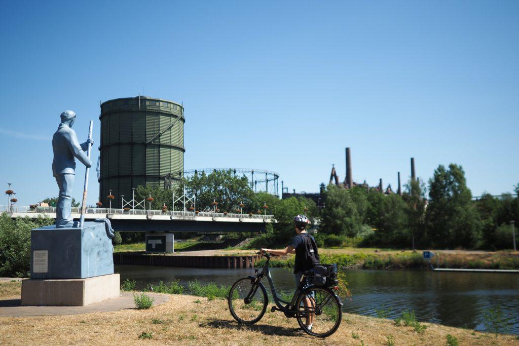 MOSL - balade à vélo jusqu'à Volklingen