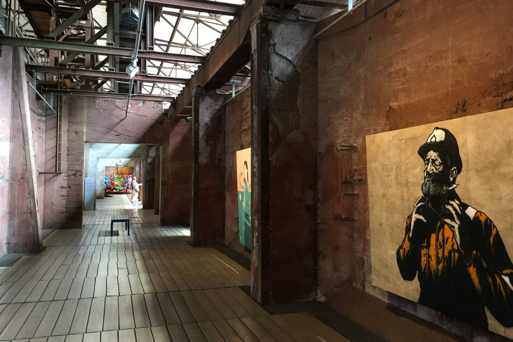 MOSL - Völklinger Hütte - Urban Art