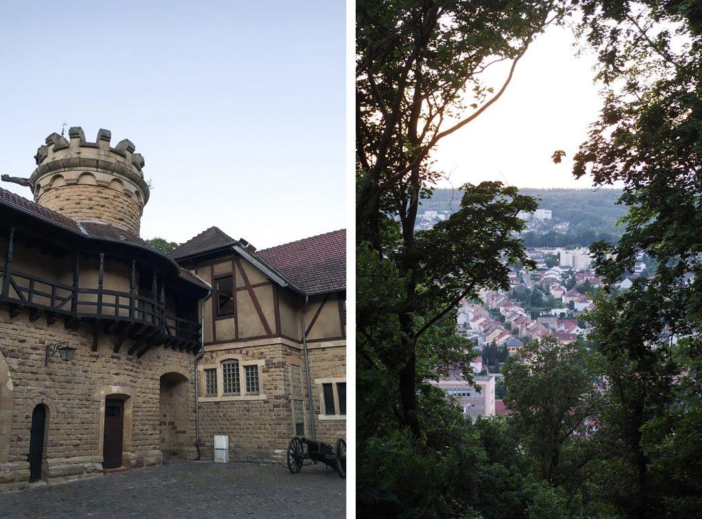 Moselle - Forbach - château du Schlossberg