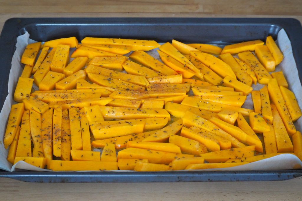 Recette potiron rôti orange cumin miel - recette facile via mercipourlechocolat.fr