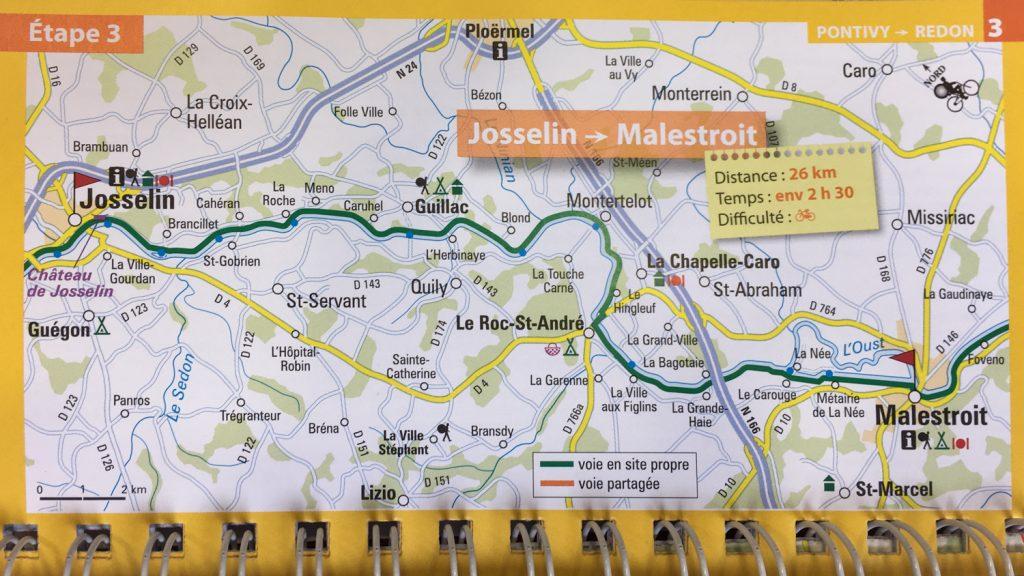 VÉLODYSSÉE - de Josselin à Malestroit - Morbihan, Bretagne