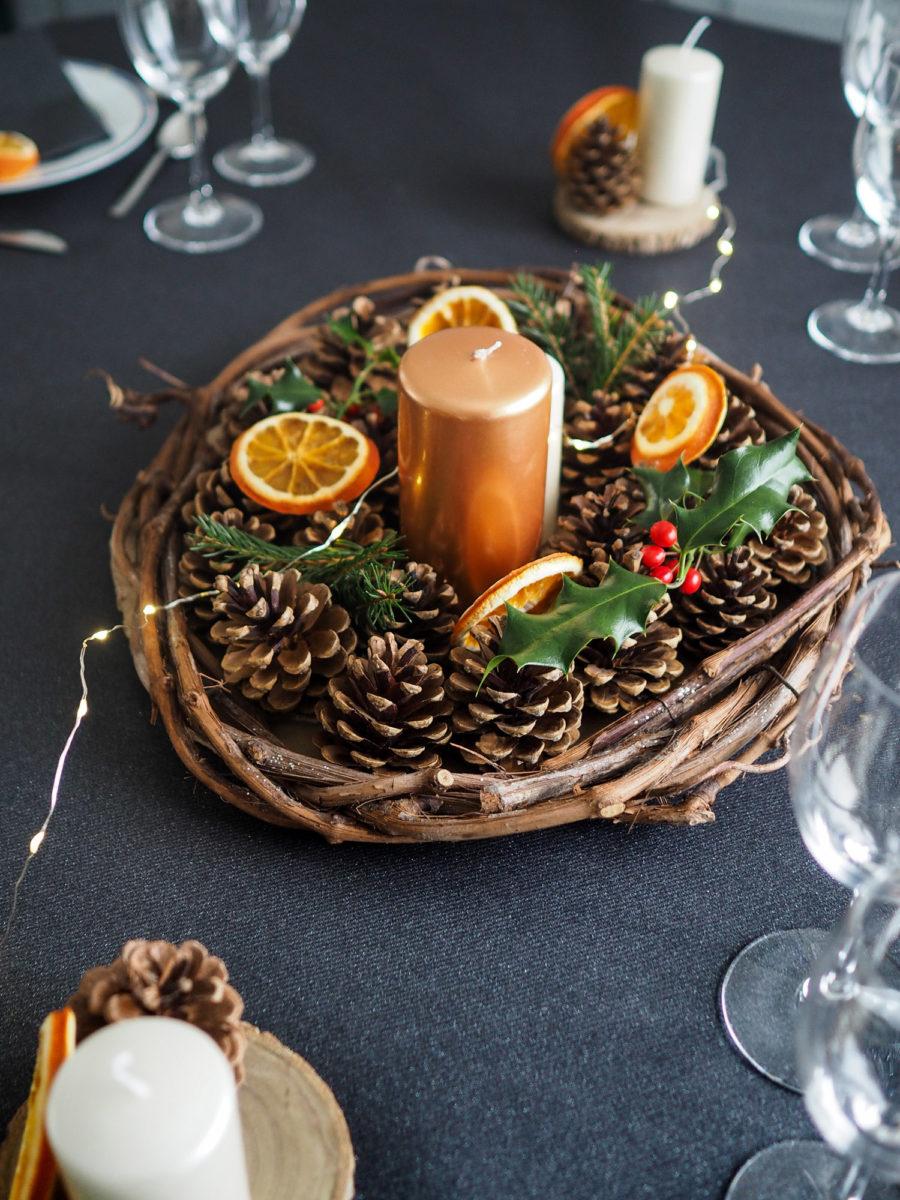 Diy Une Deco De Table Nature Pour Noel Merci Pour Le Chocolat