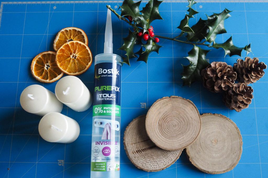 DIY - porte-bougie nature pour Noël (via mercipourlechocolat.fr)