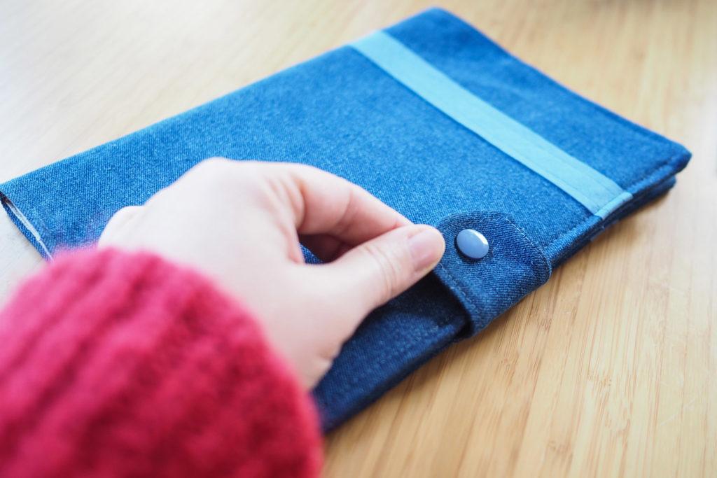 DIY couture - protège carnet de santé (via mercipourlechocolat.fr)