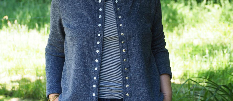 Couture – mon cardigan façon agnès