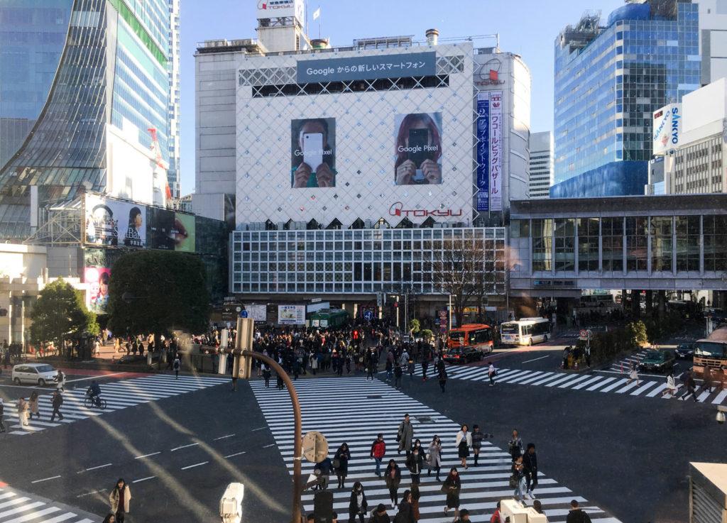 SHIBUYA CROSSING Tokyo (via mercipourlechocolat.fr)