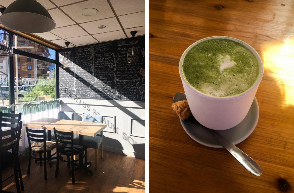 Les 2 Alpes - café Edina