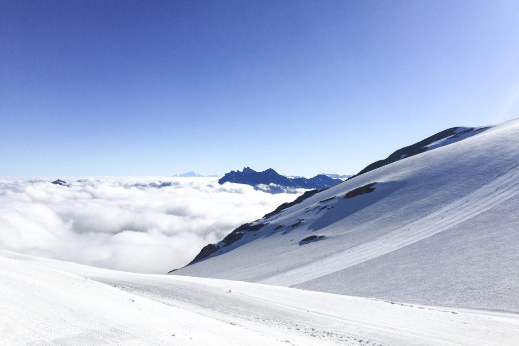 Les 2 Alpes - randonnée sur le glacier