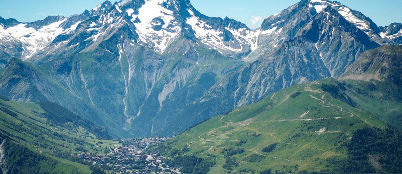 Les 2 Alpes en été