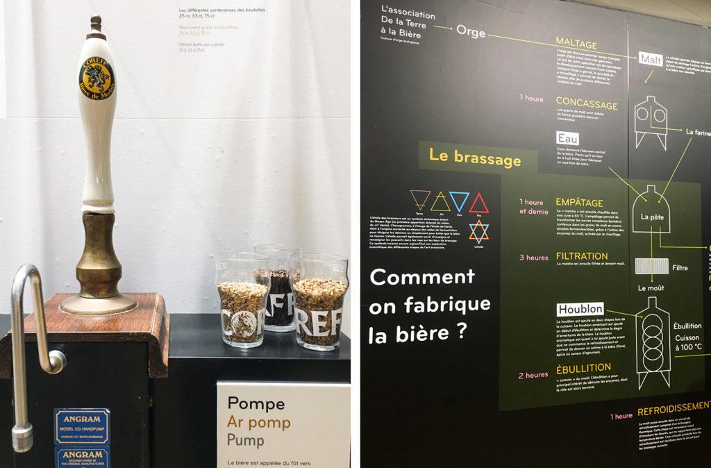 LA VÉLODYSSÉE - CARHAIX - BRASSERIE COREFF - visite et dégustation