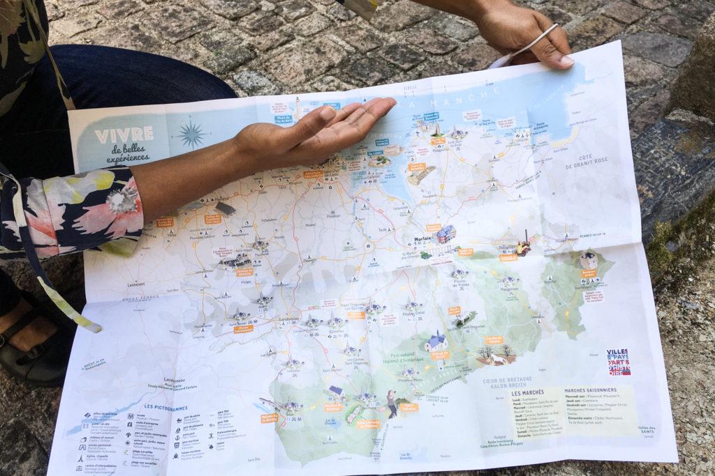 La vélodyssée - visite de Morlaix (via mercipourlechocolat.fr)