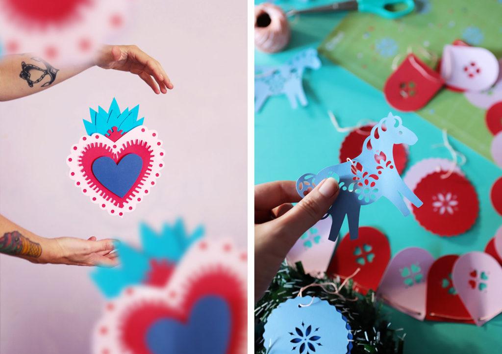 CRICUT MAKER - POULETTE MAGIQUE inspiration découpe papier / paper art (via mercipourlechocolat.fr)
