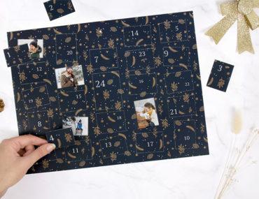 Photoweb - cadeaux noël personnalisés - calendrier avent photos