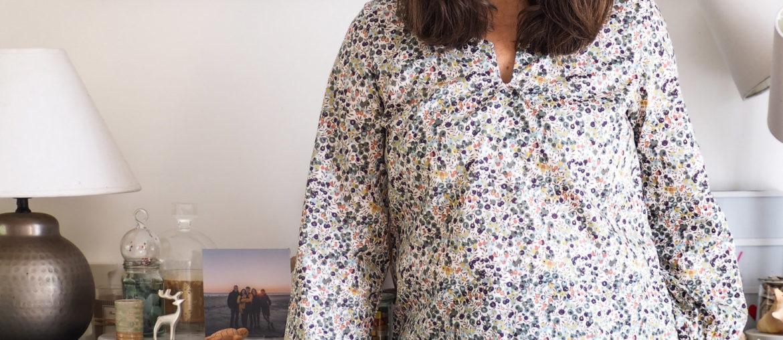 Couture – ma blouse en Liberty Nolwenn