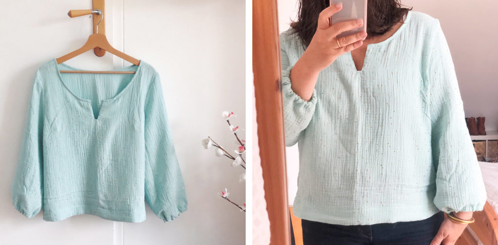 Couture 2020 - blouse Nolwenn Self Tissus