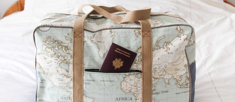 Couture – sac de voyage Globe Trotteur