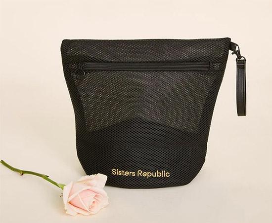 SISTERS REPUBLIC - pochette rangement et lavage culottes menstruelles