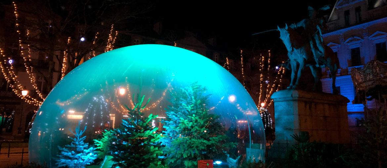 Noël, dans une bulle et entre parenthèses