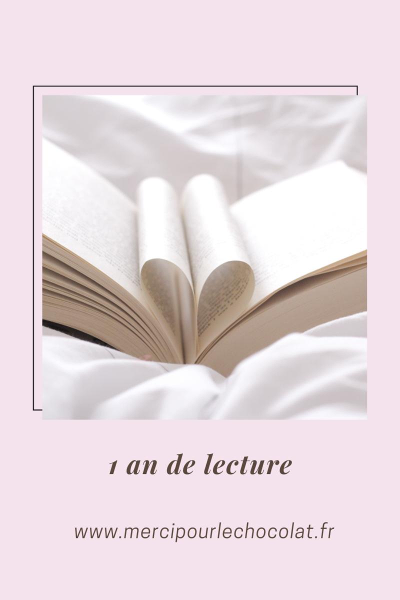 1 an de lecture