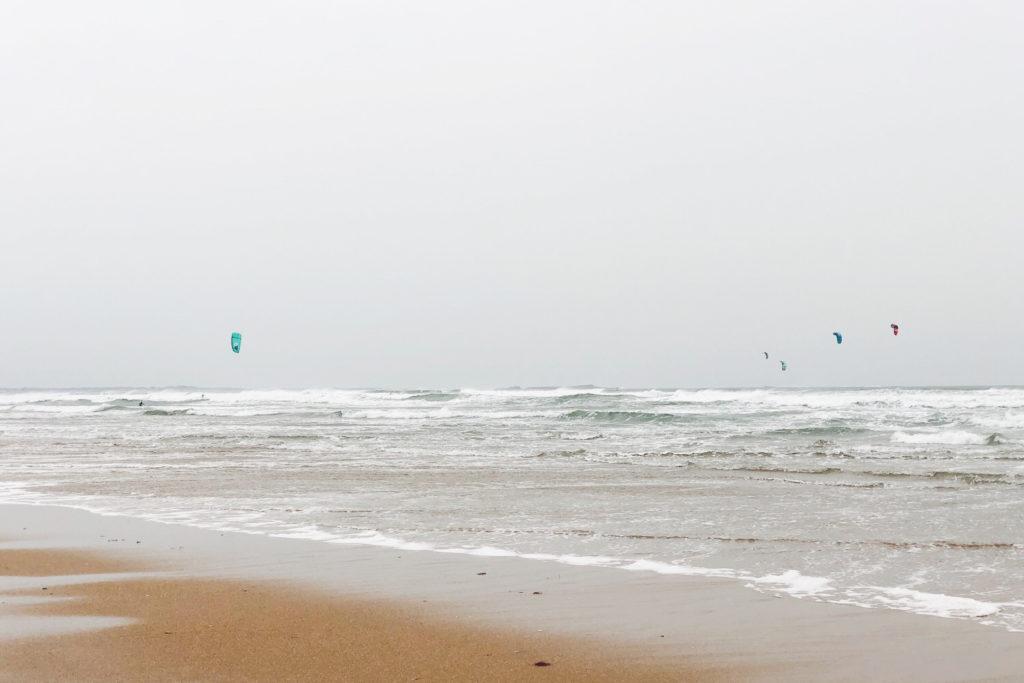 plage sainte-Barbe, Plouharnel (Morbihan / Bretagne)