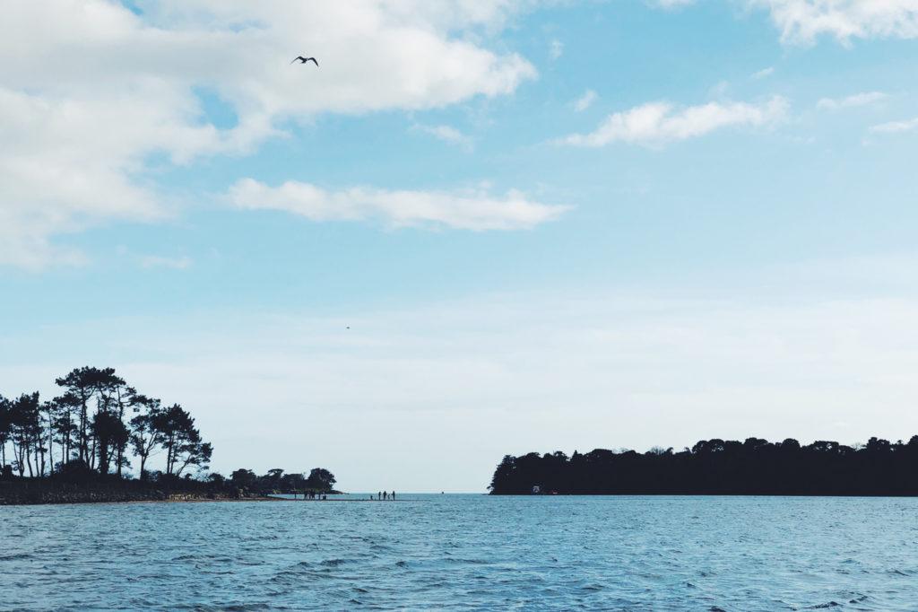 Les 7 Îles - Larmor-Baden, golfe du Morbihan, Bretagne