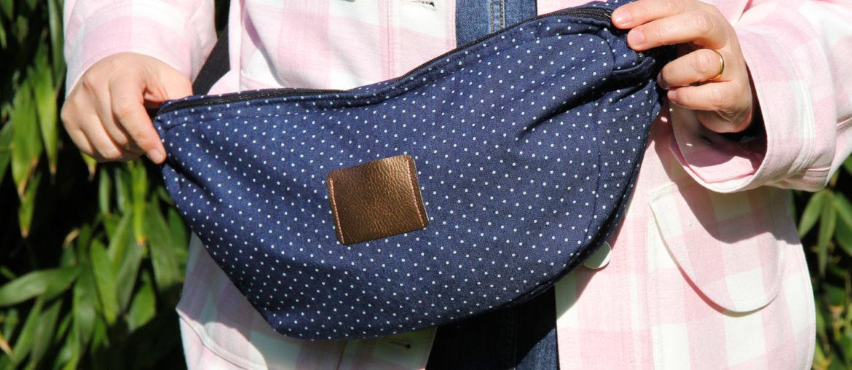 Couture – mon sac banane XL en denim