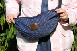 Couture - sac banane XL Chouette Kit en denim (via mercipourlechocolat.fr)