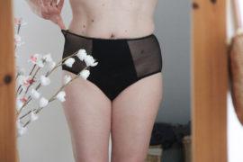 MOODZ - culottes menstruelles super taille haute plumetis