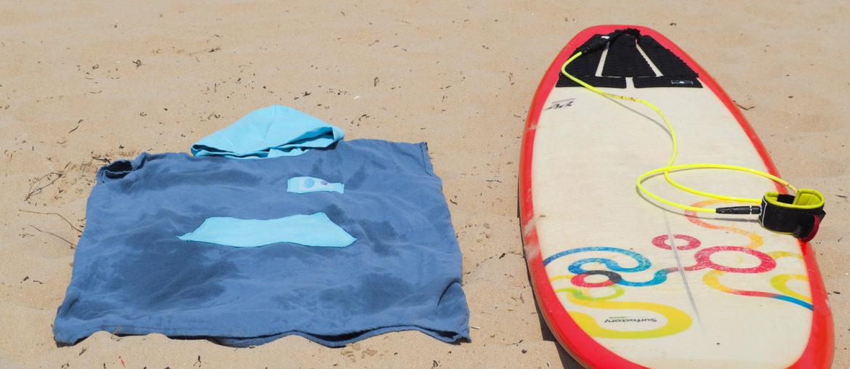 Couture – le hack du poncho de surf