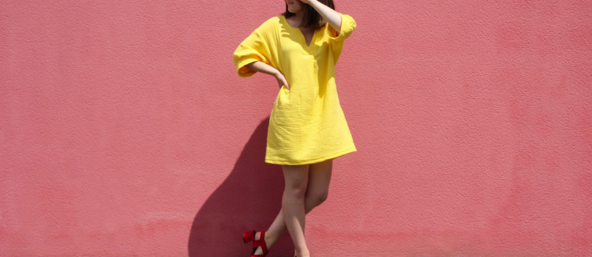 Couture – Mae, une robe soleil pour ma fille ☀️