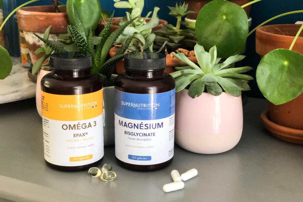 Chouchous été 2021 - compléments alimentaires Supernutrition.fr - OMEGA 3 & MAGNESIUM