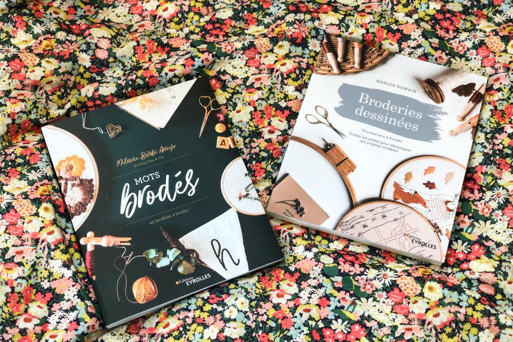 Chouchous été 2021 - livres DIY broderie