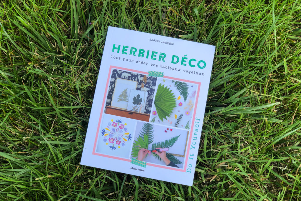 Chouchous été 2021 - livre DIY herbiers déco